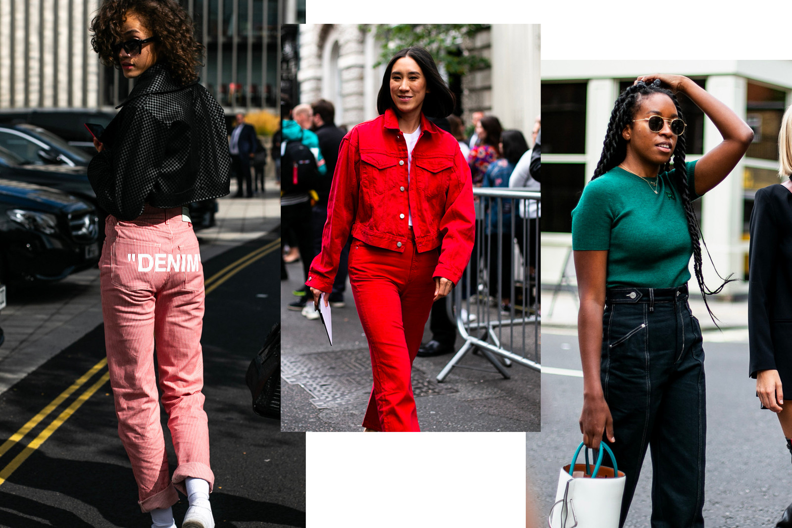 Fendi Fila Logo Fanny Pack Belt Bag London Fashion Week Spring Summer 2019 Street Style