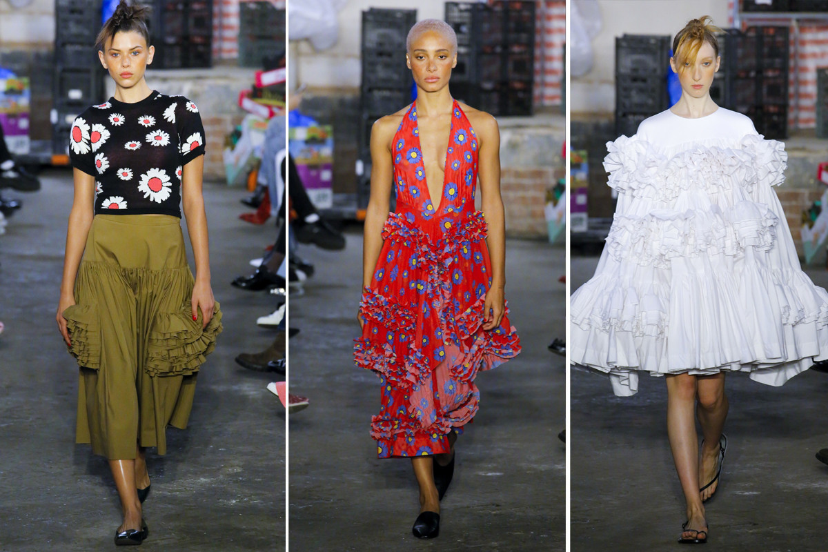 Best Shows From London Fashion Week SS19 Burberry Victoria Beckham Christopher Kane