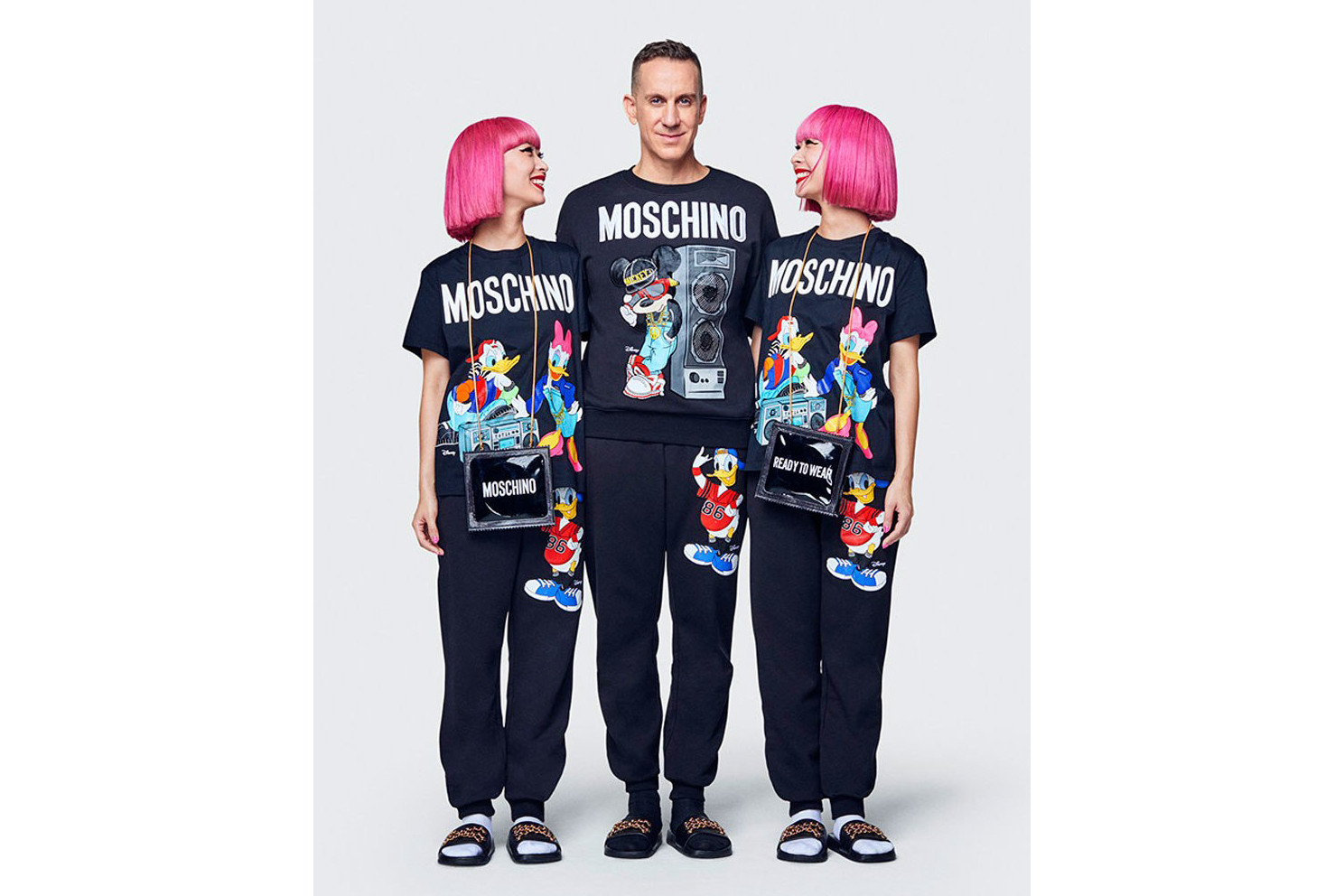 Moschino H&M Collaboration Petwear Jeremy Scott Dog Gold