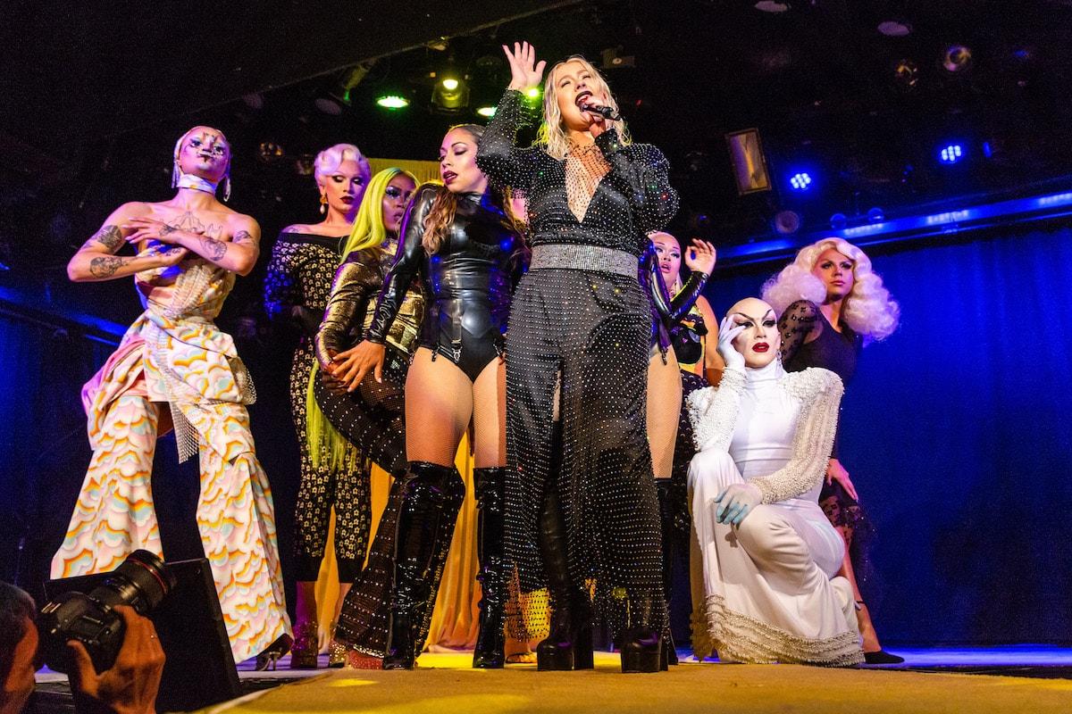 Opening Ceremony Spring Summer 2019 Show Christina Aguilera Sasha Velour