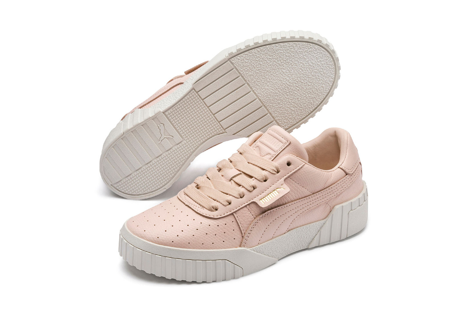 Puma Women's Leather Cali Sneaker Re-release