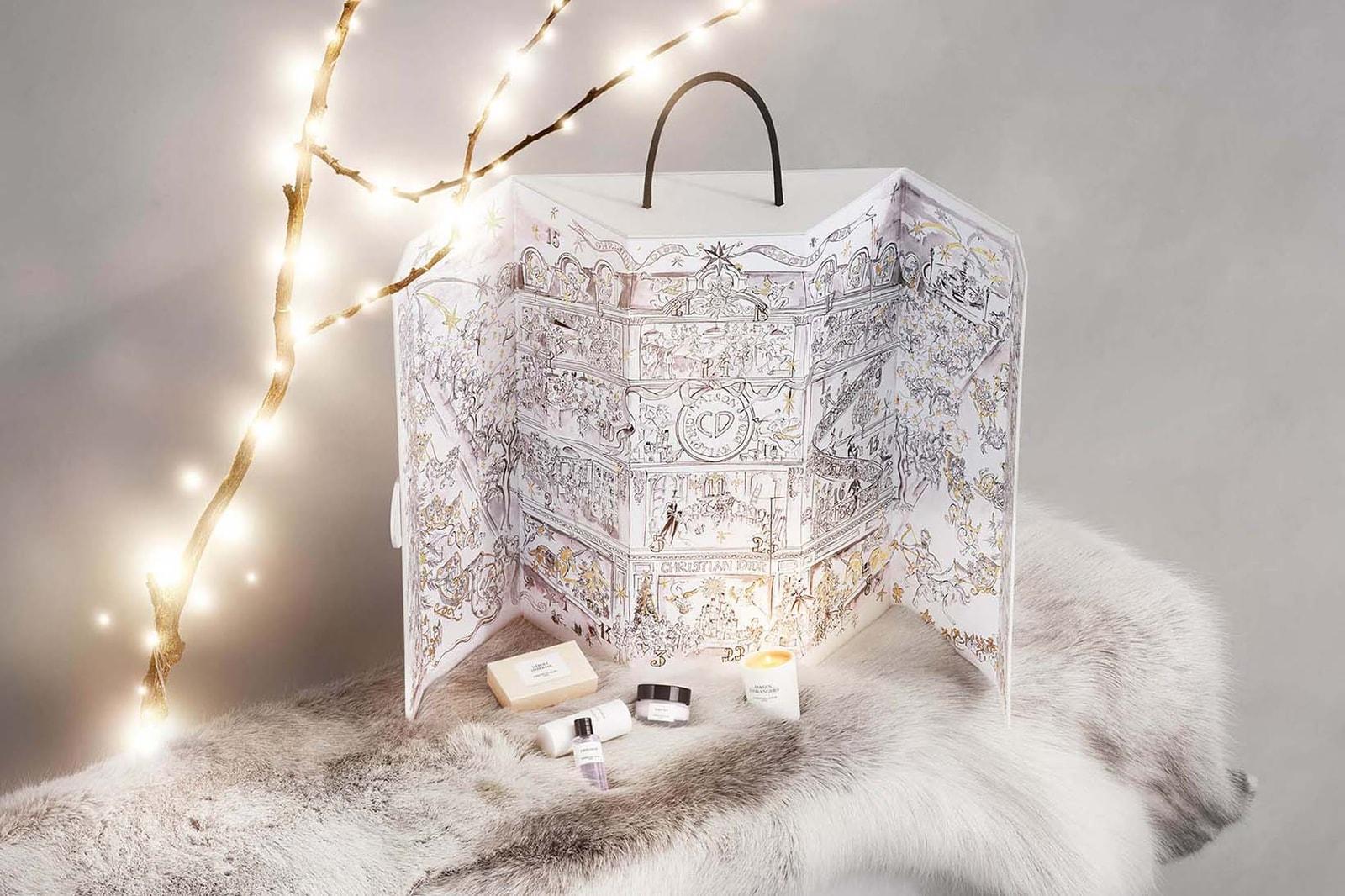 Best Beauty Cosmetics Advent Calendar 2019  Selfridges Charlotte Tilbury Dior Feelunique Dr. Barbara Sturm