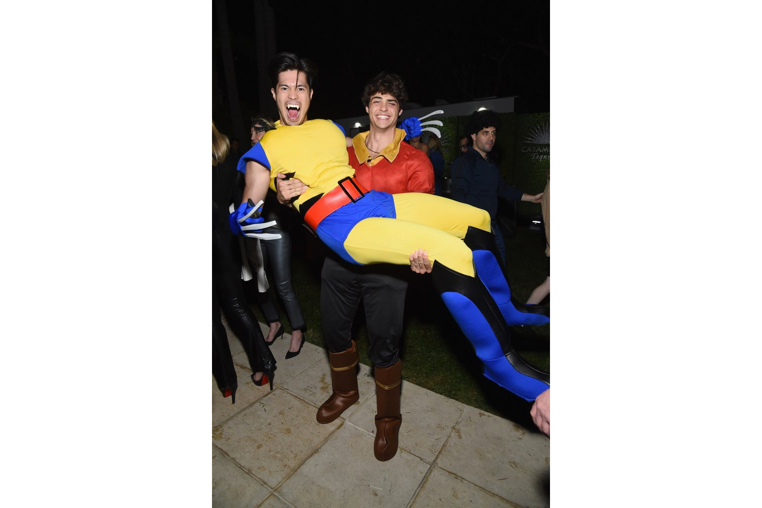 Celebrity Halloween Costumes Noah Centineo Kendall Jenner Kaia Gerber Zoe Kravitz Harry Styles Joe Jonas Halsey Ross Butler Nina Dobrev Gabrielle Union Party Hollywood