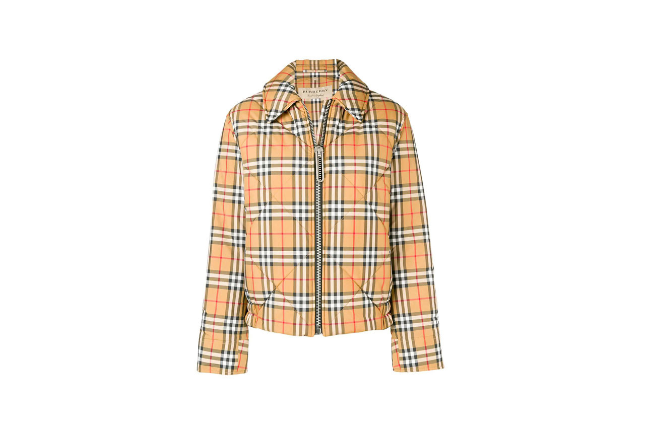 Burberry Vintage Check Trench Coat Bucket Hat