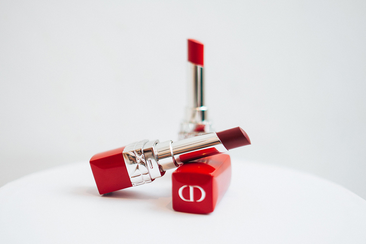 Dior Ultra Rouge Lipsticks Makeup Nail Polish Lip Liner Red Beauty Cosmetics
