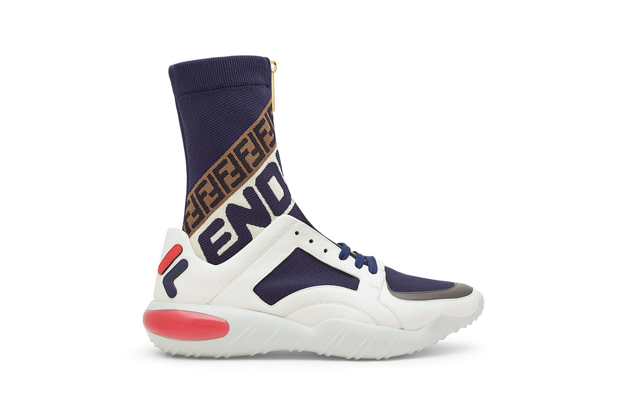 Fendi FILA Fall Winter 2018 Sneakers Slides