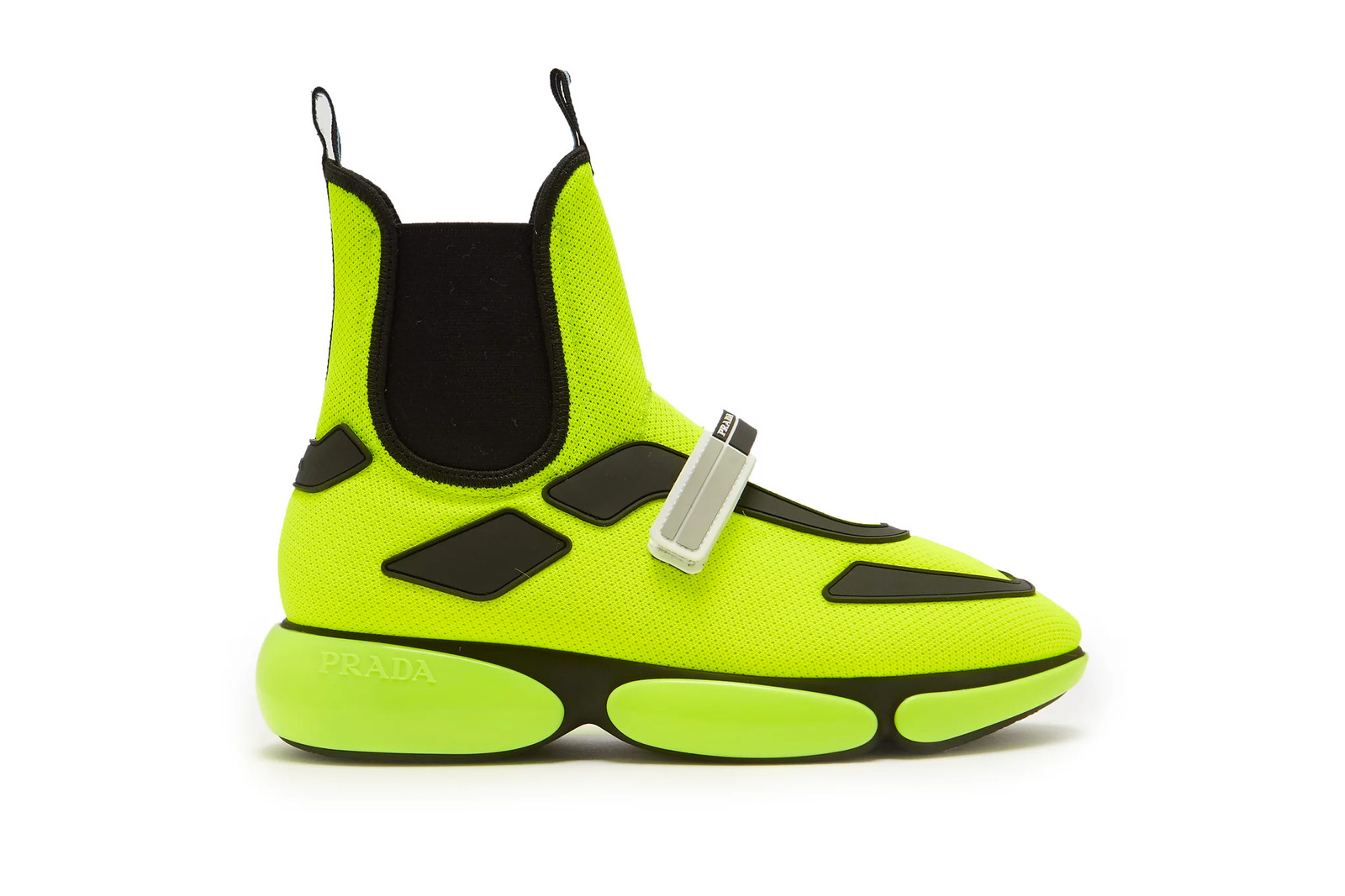 Neon Clothes Turtleneck Pink Green Yellow Prada Balenciaga Bright Color Fall Winter Wardrobe Sneaker Roundup