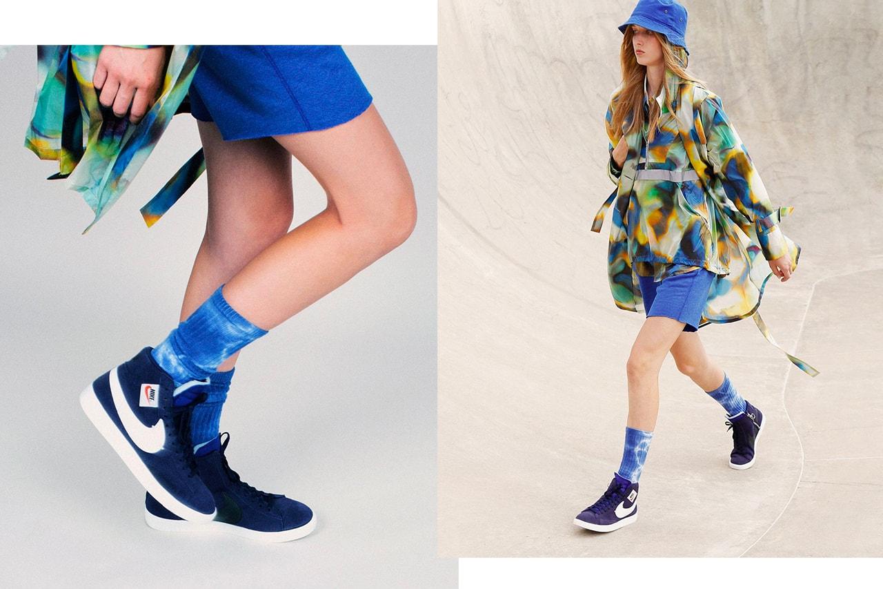 Nike Shox Black Commes des Garcons SS19 Spring Summer 2019 Sneaker Runway Paris Fashion Week Collaboration Rei Kawakubo Chain Jewelry