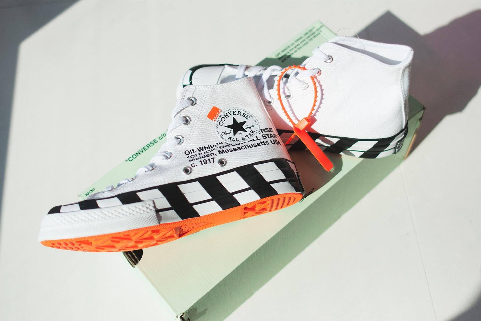 b0b3f1384ab8 Off-White x Converse Chuck 70 White Release Date