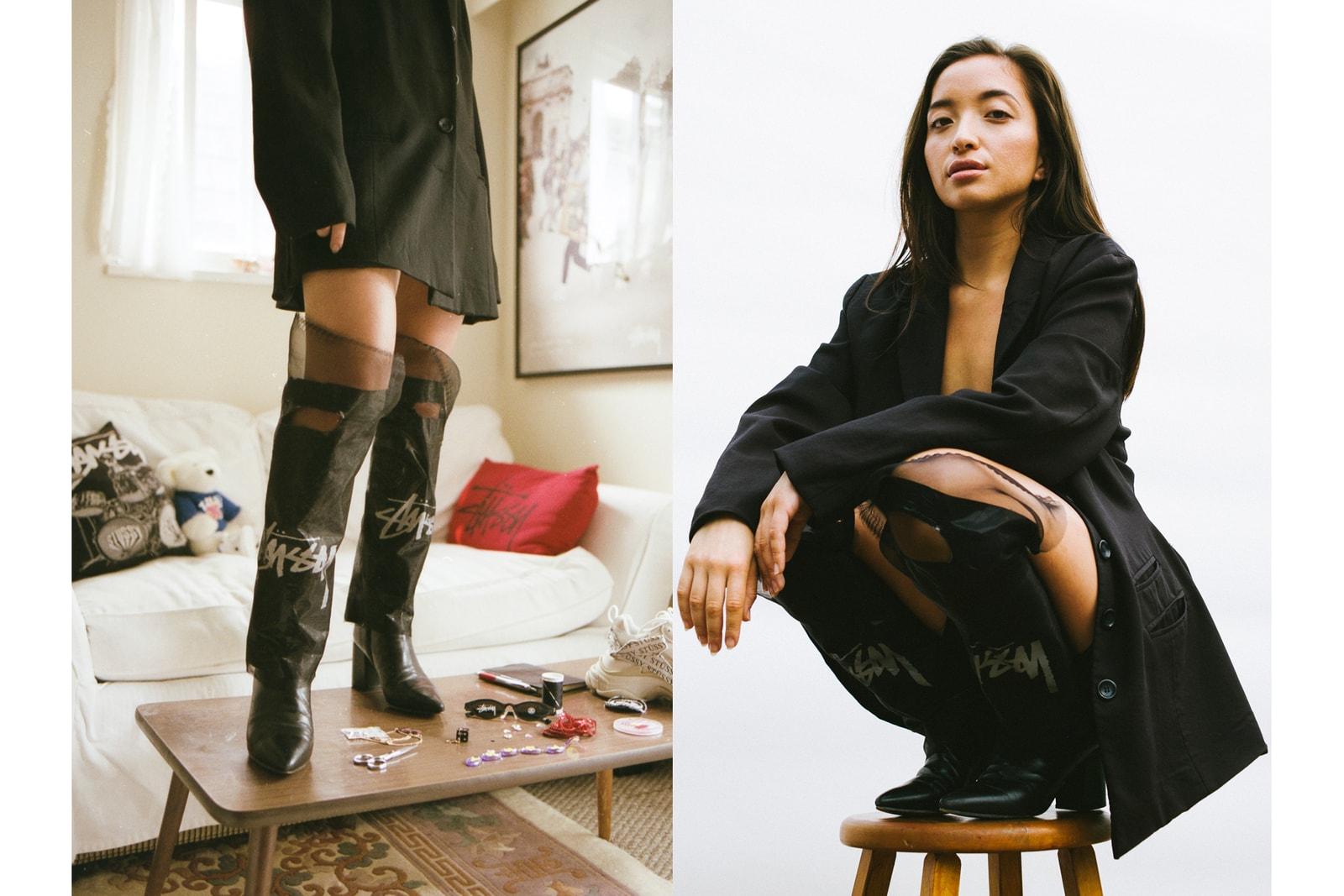Tamara Grunberg Stussy DIY Rework Vancouver Canada Designer Bag Dress