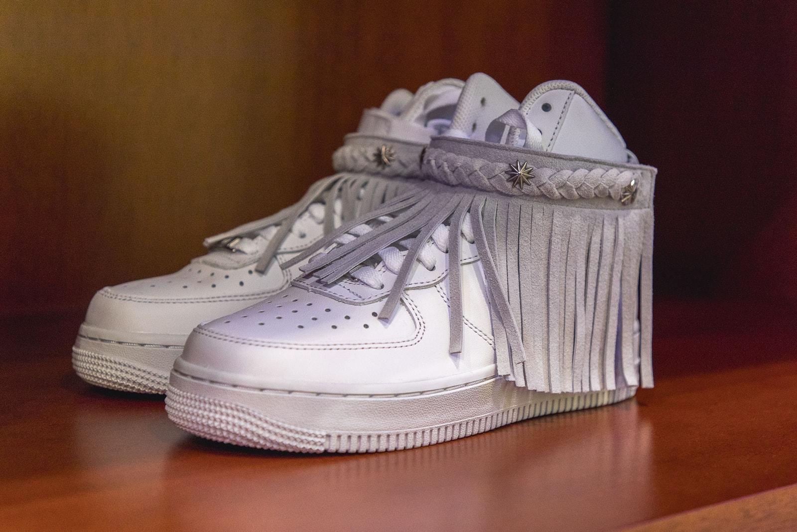 Chitose Abe Sacai Lane Crawford Pop-up Interview Brand Collaboration Nike BEARBRICK