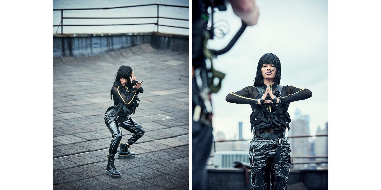 Teyana Taylor Wu-Tang x Milk Makeup Lipstick Collaboration Campaign