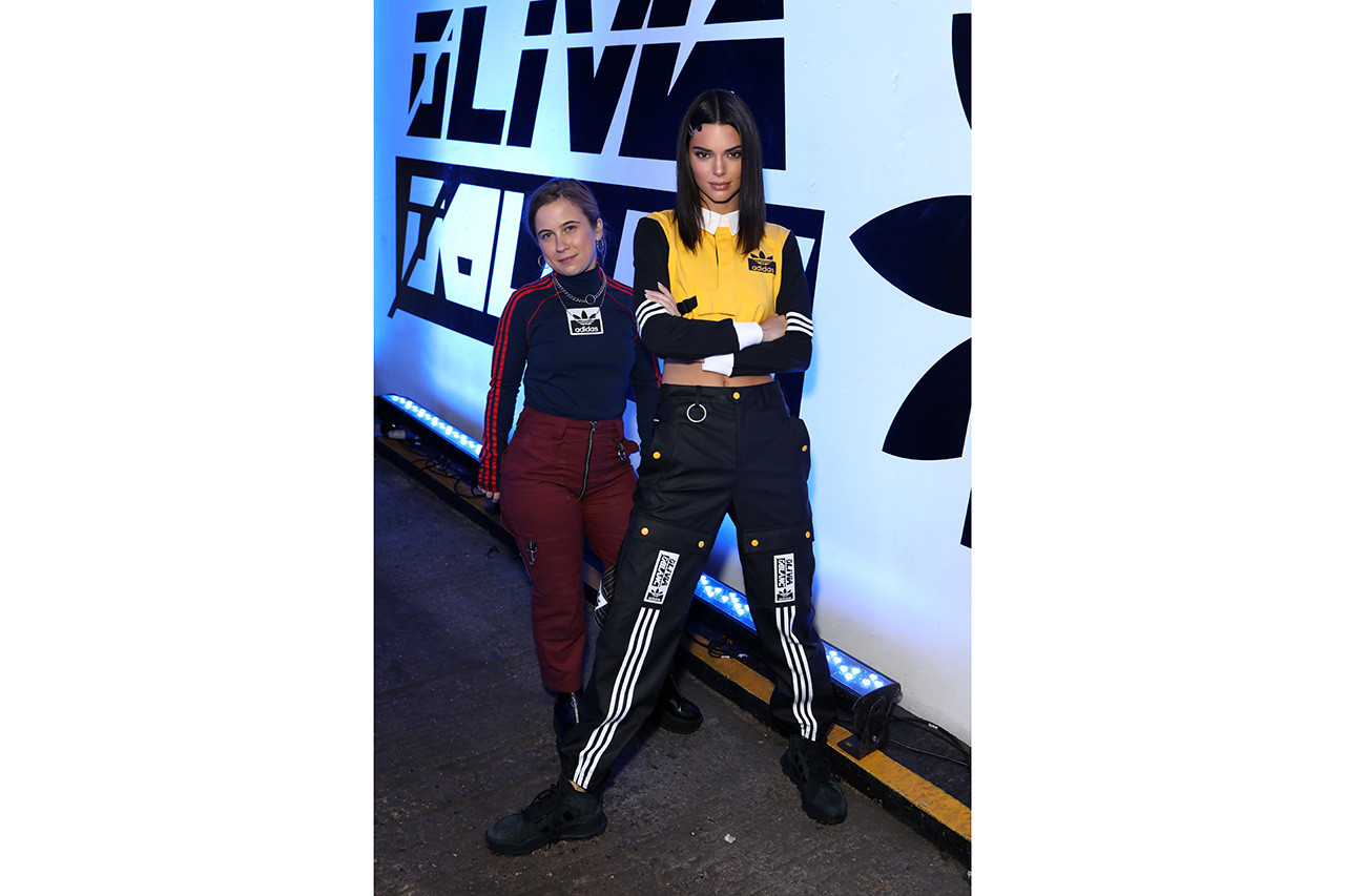 adidas Originals by Olivia Oblanc Interview Presentation London Kendall Jenner