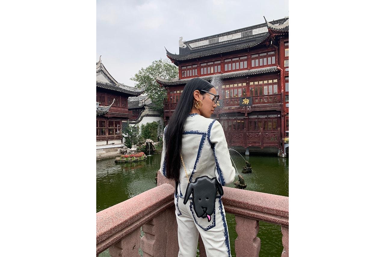 Aleali May Interview Louis Vuitton VVV Volez Voguez Voyagez Exhibition Shanghai Photo Diary