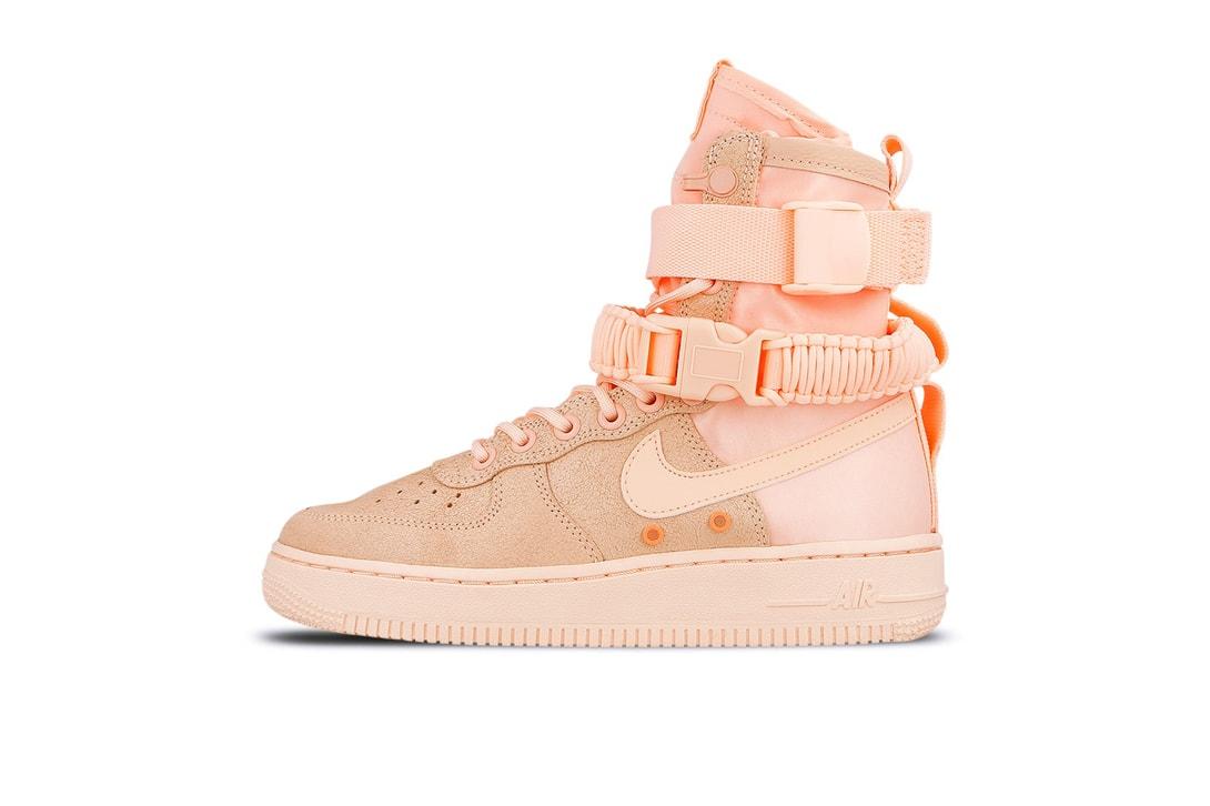 Nike Air VaporMax Flyknit 2 Beige Racer Blue SF Air Force 1 Crimson Tint Orange Pulse adidas Originals Falcon Shock Pink Gucci Flashtrek Pink