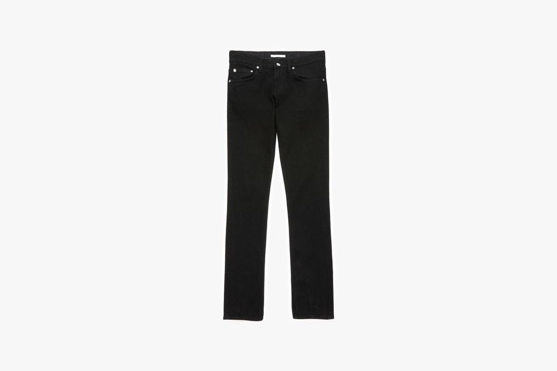 Helmut Lang Jeans Denim Pants Shorts Blue T-shirt White