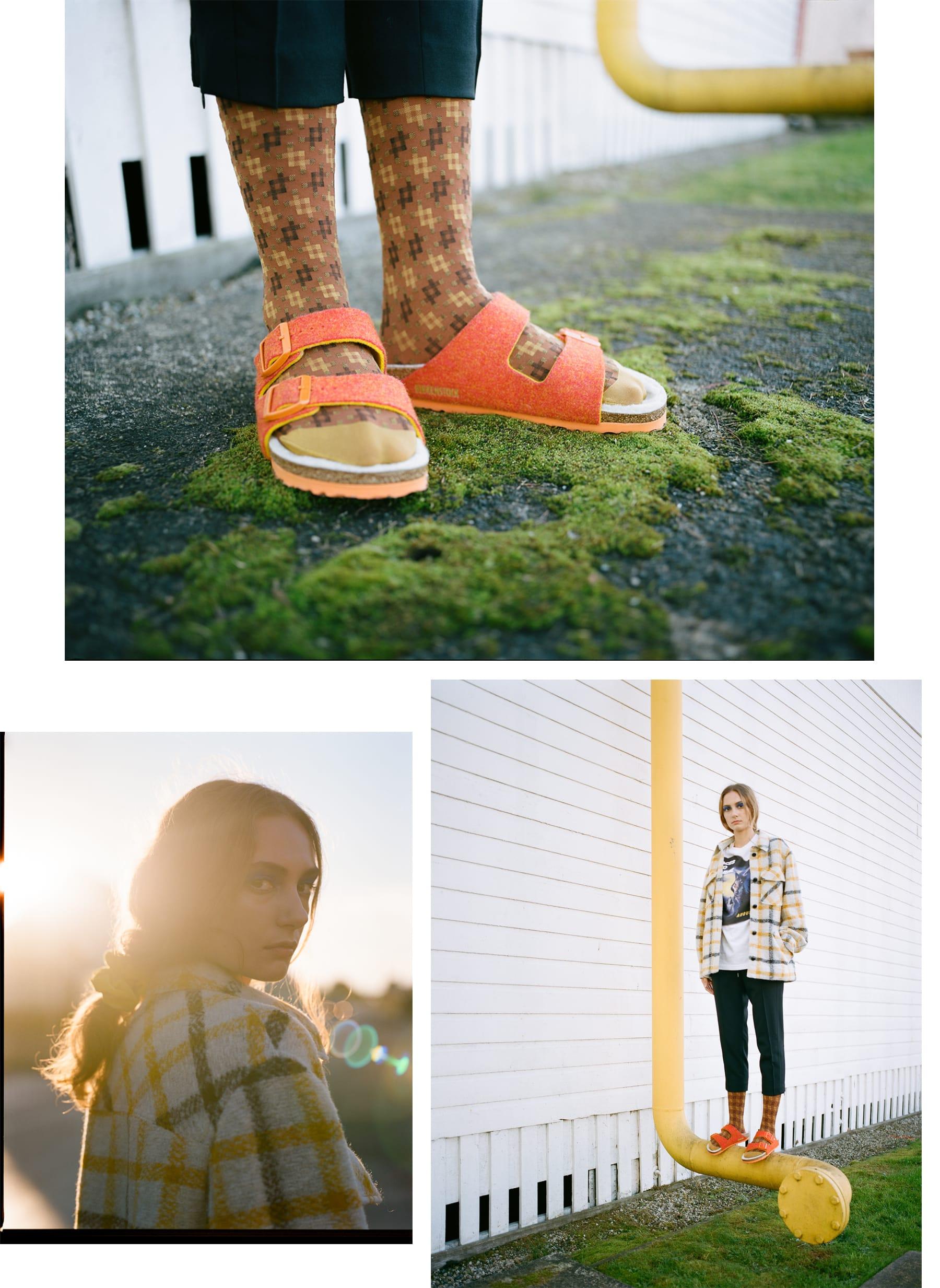 Wear Birkenstock Sandals with Socks