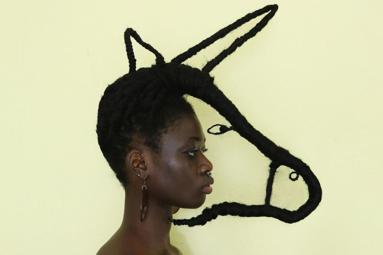 Laetitia Ky Afrocentric Avant Garde Hair