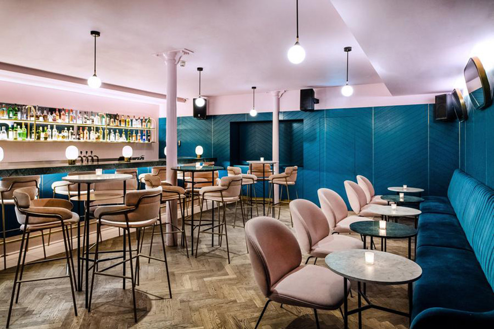 London's Most Instagram Friendly Instagrammable Cocktail Bars Tonight Josephine Nikki's Frank's Cafe Coral Room Clerkenwell Grind