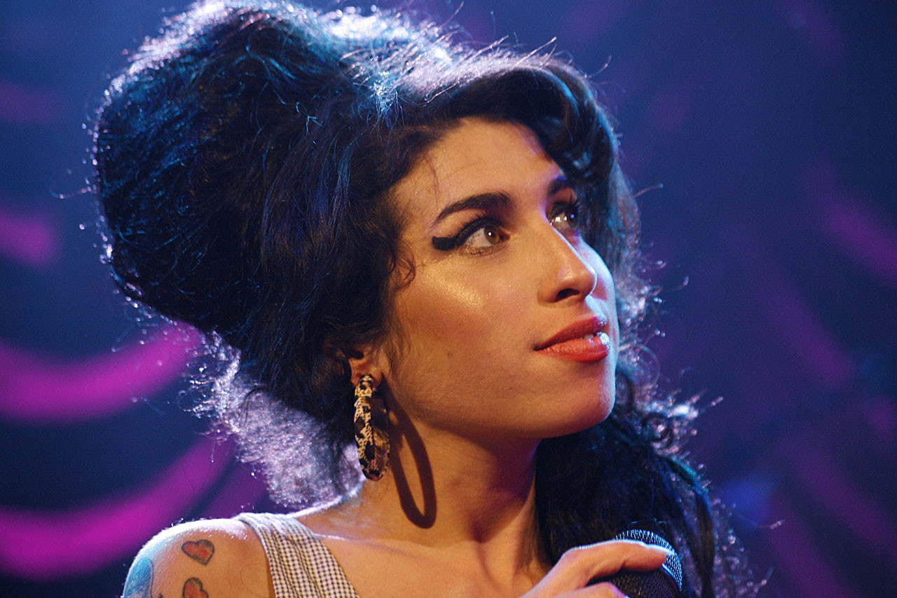 Amy Winehouse Grammy Photo