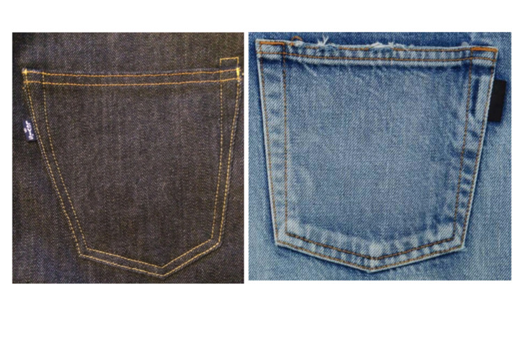 Levi's Sues Saint Laurent Over Denim Pockets Lawsuit Jeans YSL