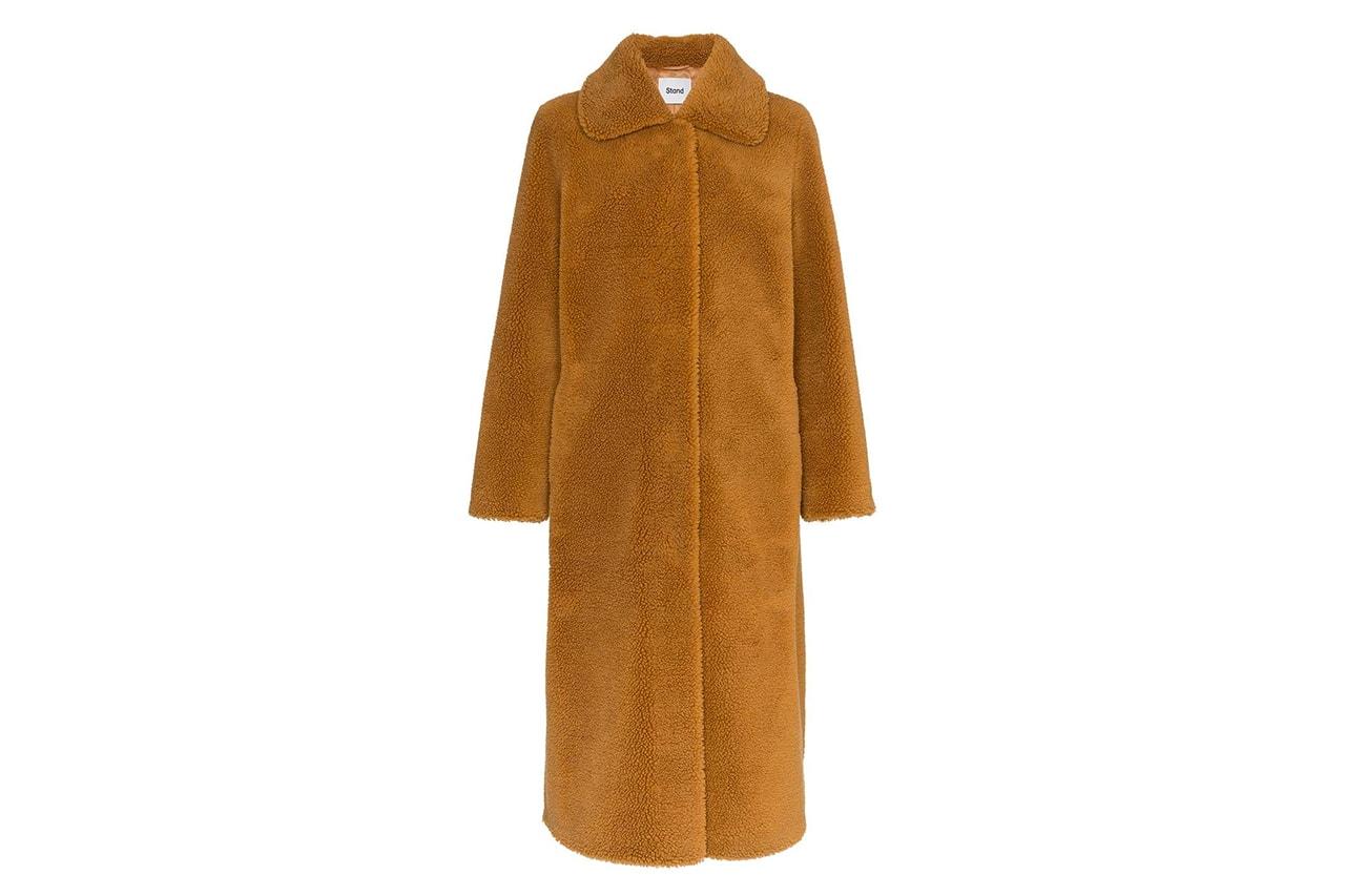 Stockholm Fashion week fall winter 2019 fw19 street style teddy jacket acne studios
