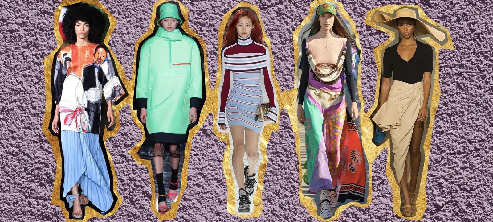 2018 Fashion Trends Designers Louis Vuitton Dior Prada Jacquemus Pyer Moss Marine Serre Martine Rose adidas Danielle Cathari Louis Vuitton