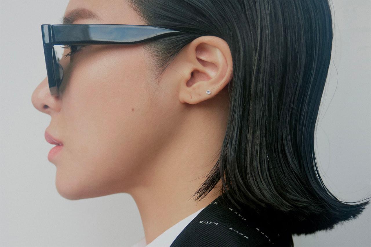 Tiffany Young Girls Generation K-pop Korean Black Suit Short Hair HYPEBAE Editorial Erika Long 2018 Hotel Bed