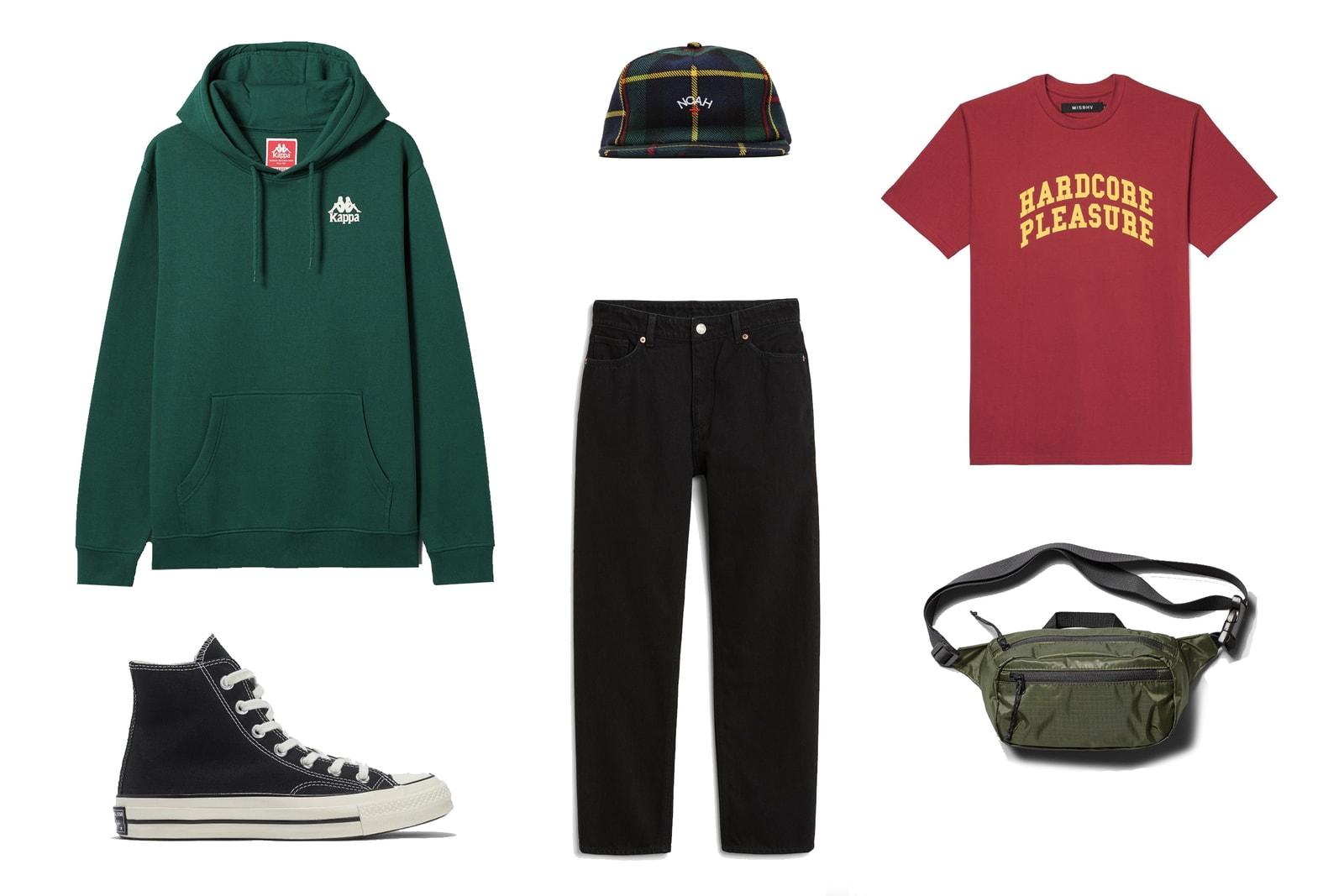 Outfit Inspiration Supreme Noah Converse