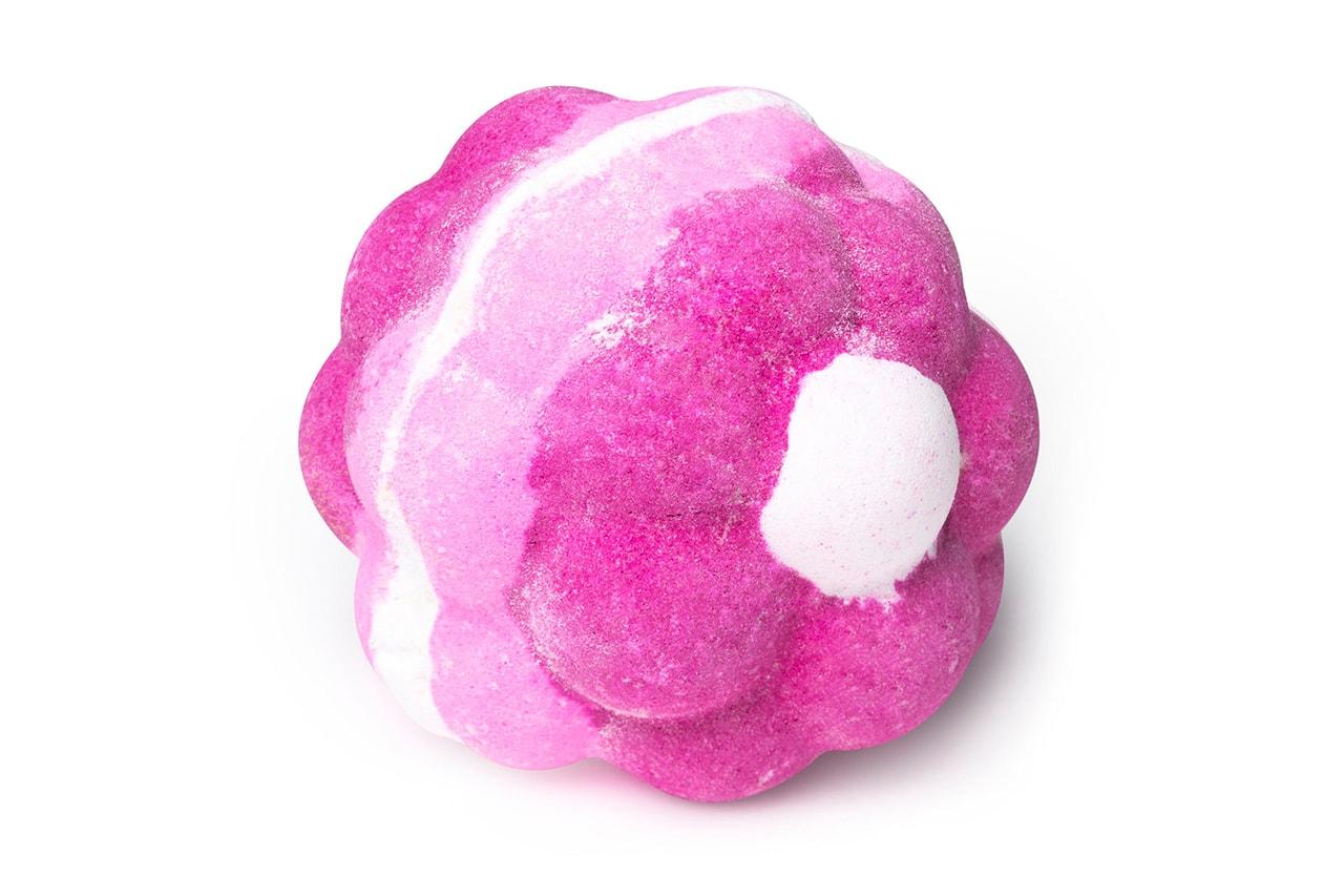 Lush Pink Bath Bomb Art Beauty Bubbles Cosmetics