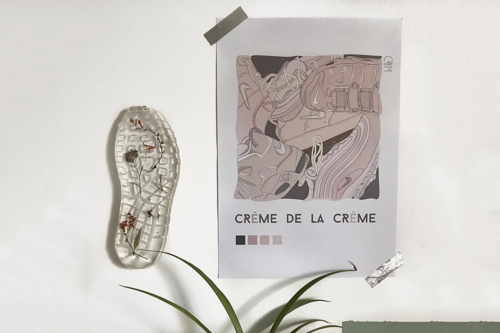 Clémence Chasselon Nike Resin Sneaker Sole Artist L'empreinte design Interview