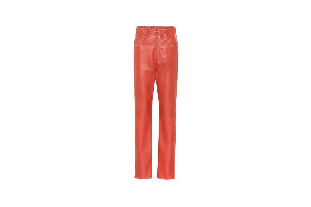 Alison Lou LOUCITE Collection Paloma Elsesser Medium Hoops Neon Orange
