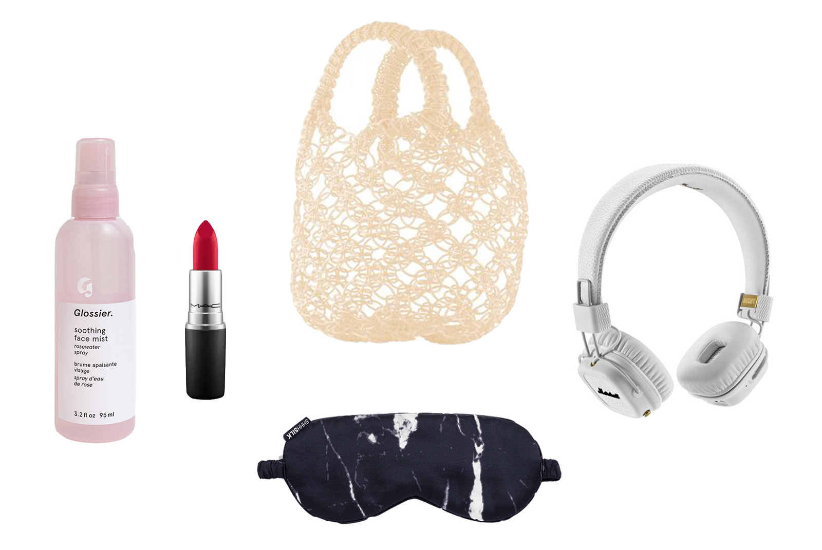 travel essentials glossier tatcha eastpak amazon kindle marshall headphones cetaphil celine herschel