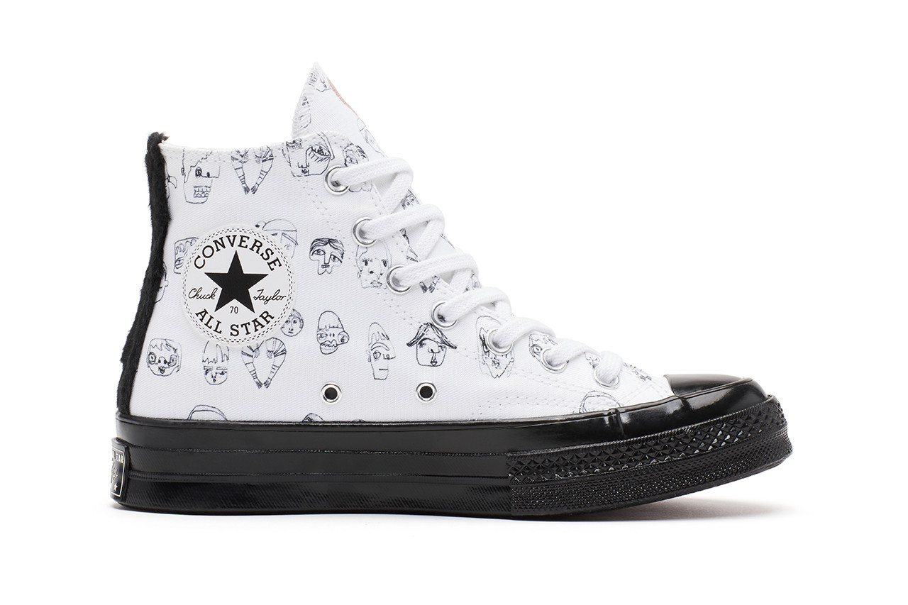 Shrimps Converse One Star Chuck Taylor All Star 70 Collaboration Sneakers Apparel Top Hoodie Sweatpants Hannah Weiland