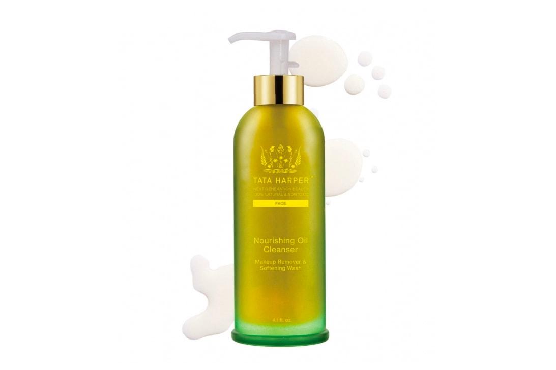 Tata Harper All Natural Skincare Routine Regimen Green Creme Riche Face Cream Beauty Face Oil Cleanser Exfoliator