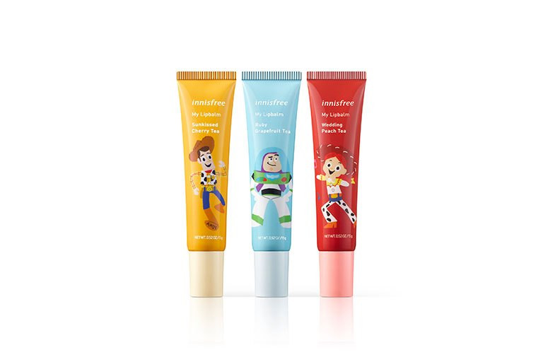Pixar Toy Story Disney innisfree Makeup Skincare Collaboration Nail Polish Liquid Eyeshadow Lip Balm Hand Cream Body Cleanser Lotion