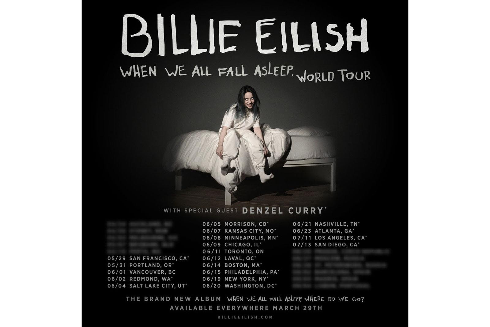 Billie Eilish When We All Fall Asleep WHERE DO WE GO