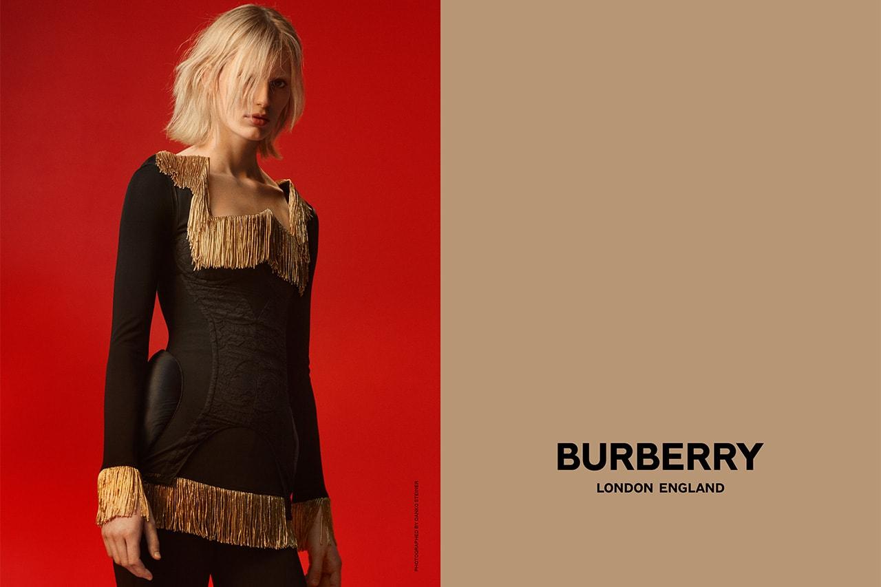 Burberry Riccardo Tisci Spring Summer 2019 Campaign Sora Choi Nick Knight Stella Tennant Fran Summers