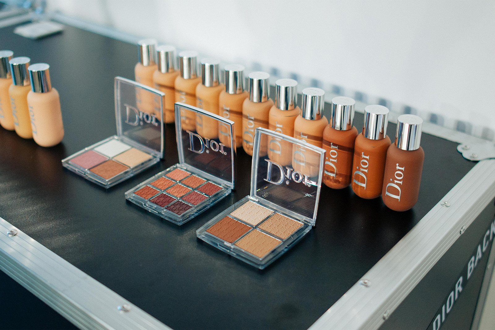 dior makeup peter philips interview beauty kim jones yoon ahn youth glow backstage