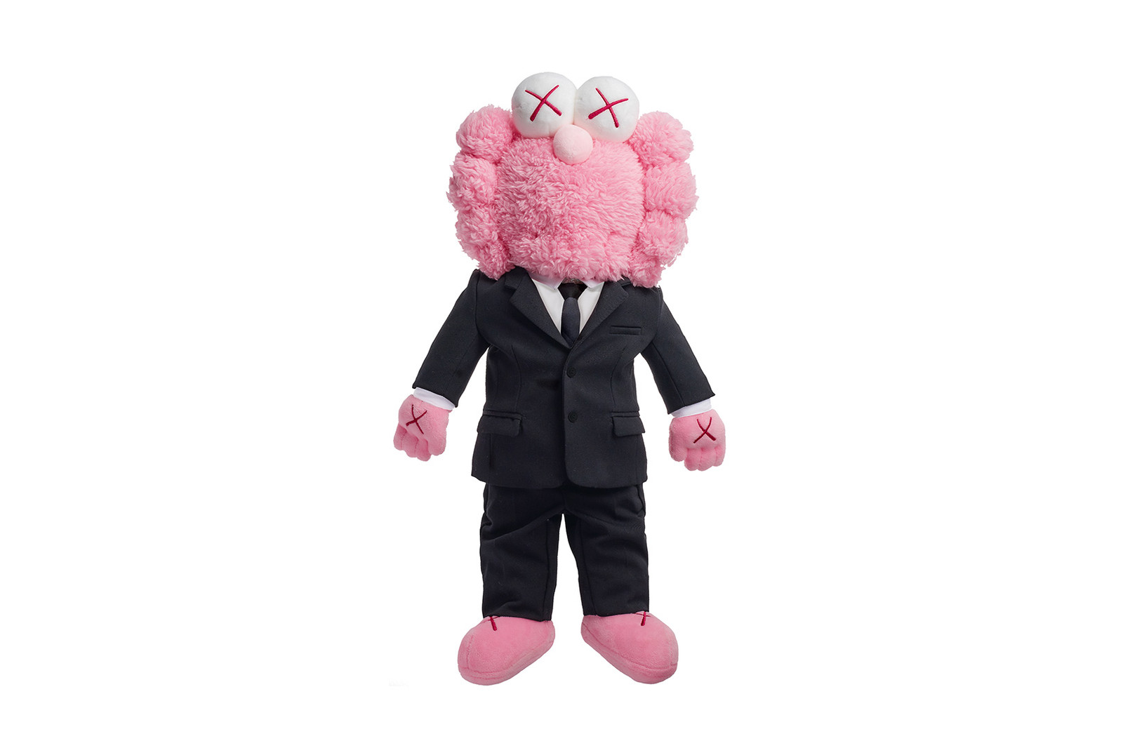 Dior Men KAWS Pink BFF Doll Kim Jones Spring Summer 2019 Homme Suit Art Design Fashion Collaboration