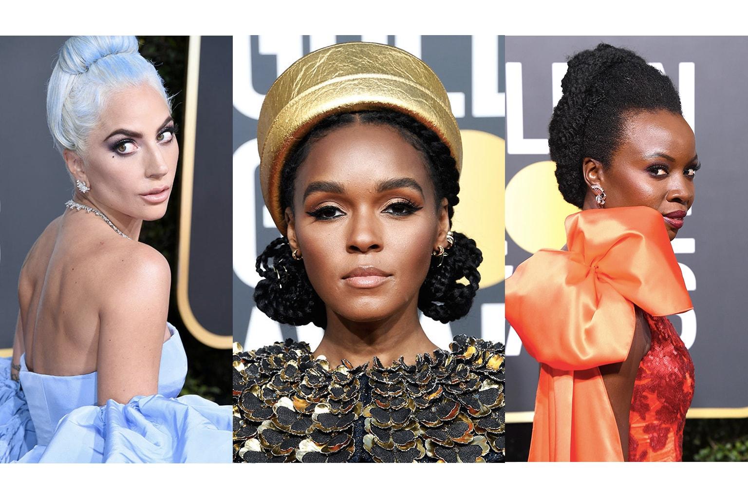 2019 Golden Globes: Best Red Carpet Makeup Looks Lady Gaga Janelle Monae Amber Heard Elle Fanning Lili Reinhart