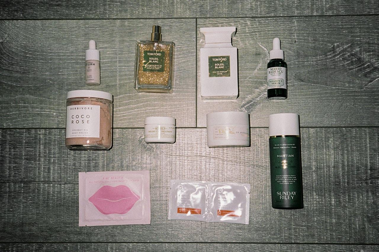 Kitty Cash DJ Makeup Skincare Hotel Bathroom Towel Eye Mask KNC Beauty Bed