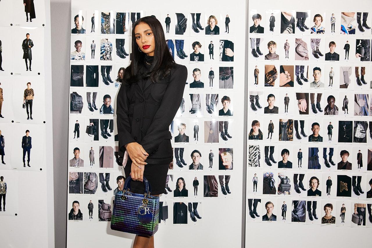Kristen Noel Crawley Dior Makeup Men Fall Winter 2019 FW19 Paris Fashion Week Men's KNC Beauty