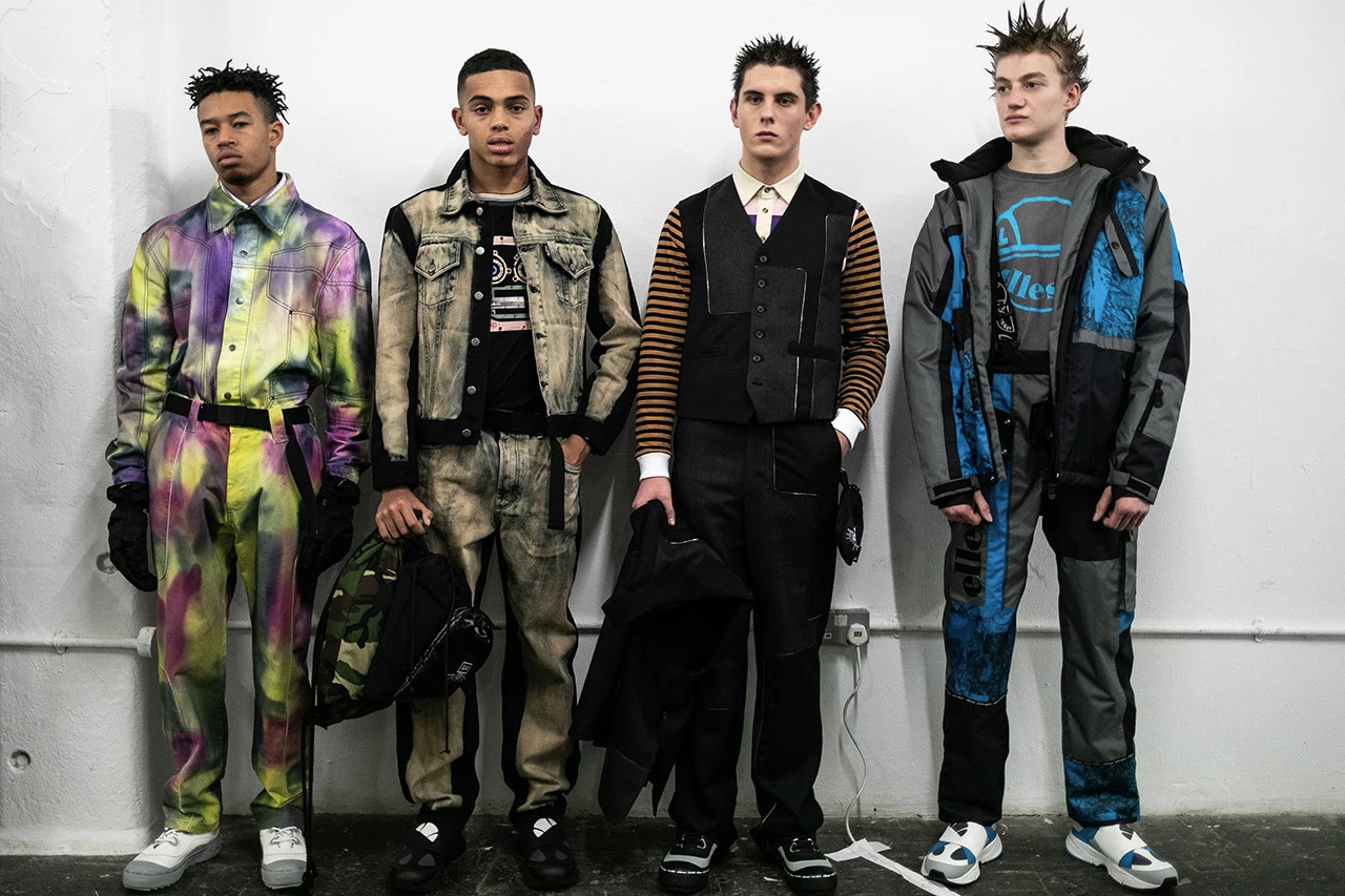 London Fashion Week Men's Fall/Winter 2019 Recap Liam Hodges Kiko Kostadinov Astrid Andersen A COLD WALL Craig Green Converse LFW
