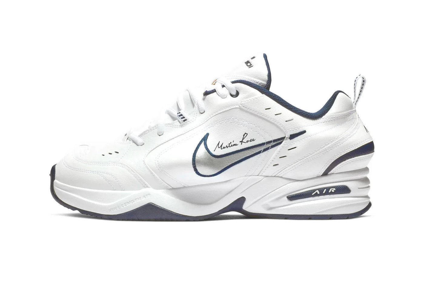 Martine Rose Nike Air Monarch IV Sneakers Sneaker Collaboration Rose Pink Millennial 2019