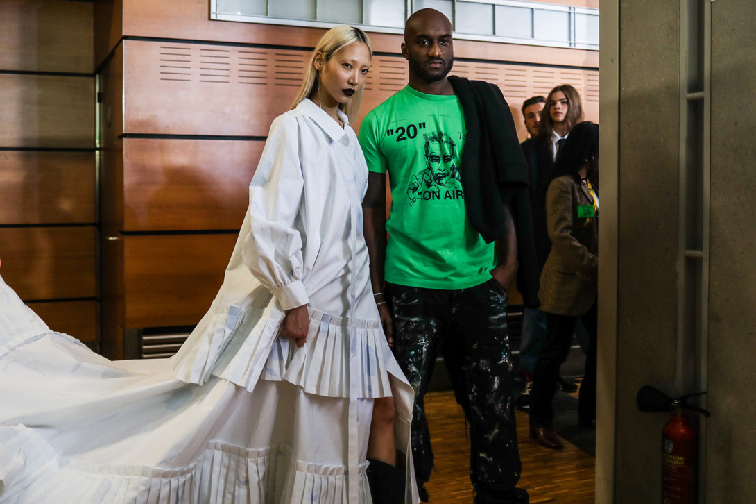 Off-White Virgil Abloh Fall Winter 2019 Paris Fashion Week Show Collection Backstage