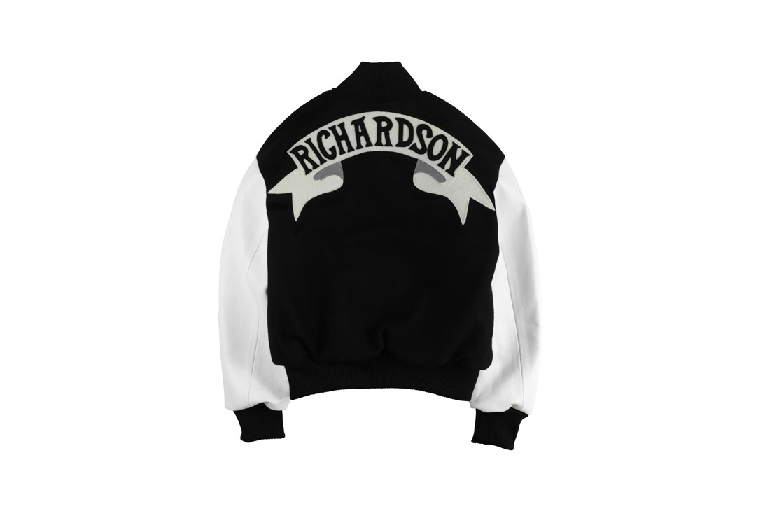 Olympia Le-Tan x Richardson Varsity Jacket Black