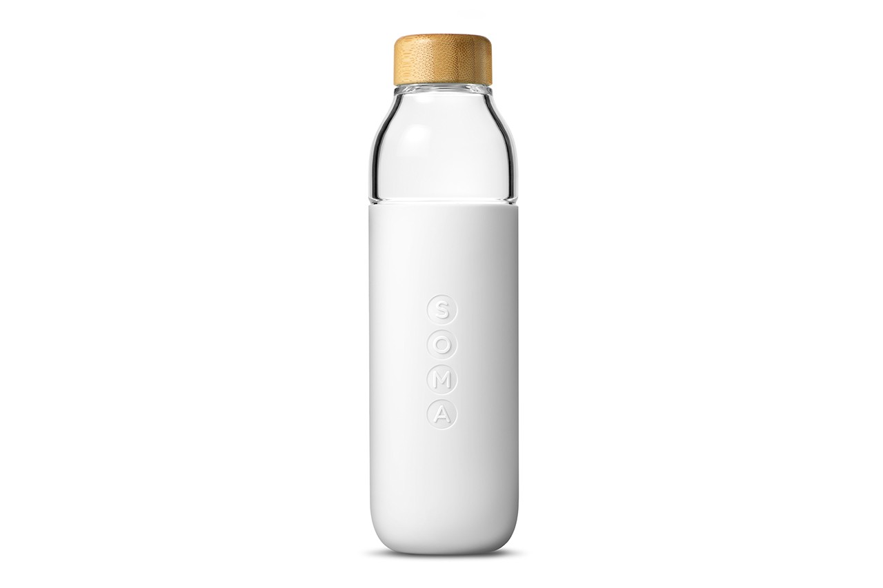 poosh kourtney kardashian bottle swell collaboration logo white reusable