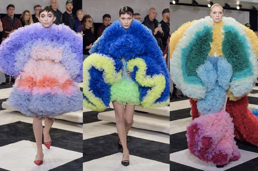 New York Fashion Week Fall Winter 2019 FW19 NYFW Telfar Tomo Koizumi Sies Marjan Eckhaus Latta