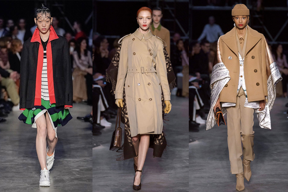 Best Shows London Fashion Week Fall/Winter 2019 Burberry JW Anderson Ashley Williams Victoria Beckham Vivienne Westwood Marta Jakubowski
